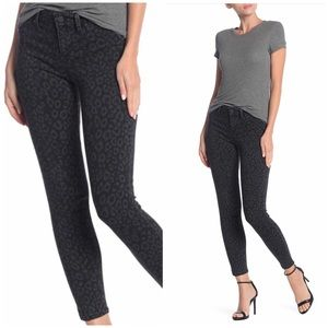 NEW Level 99 Gray Black Mid Rise Skinny Jeans 29